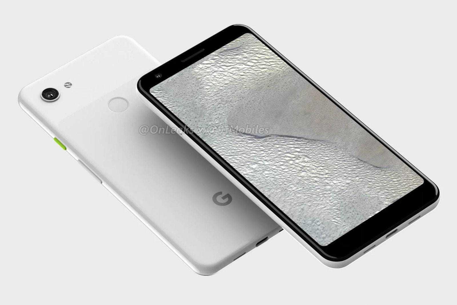 Слухи: упрощенный Google Pixel 3 будет без «чёлки»