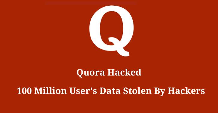 Хакеры украли данные 100 млн пользователей Quora
