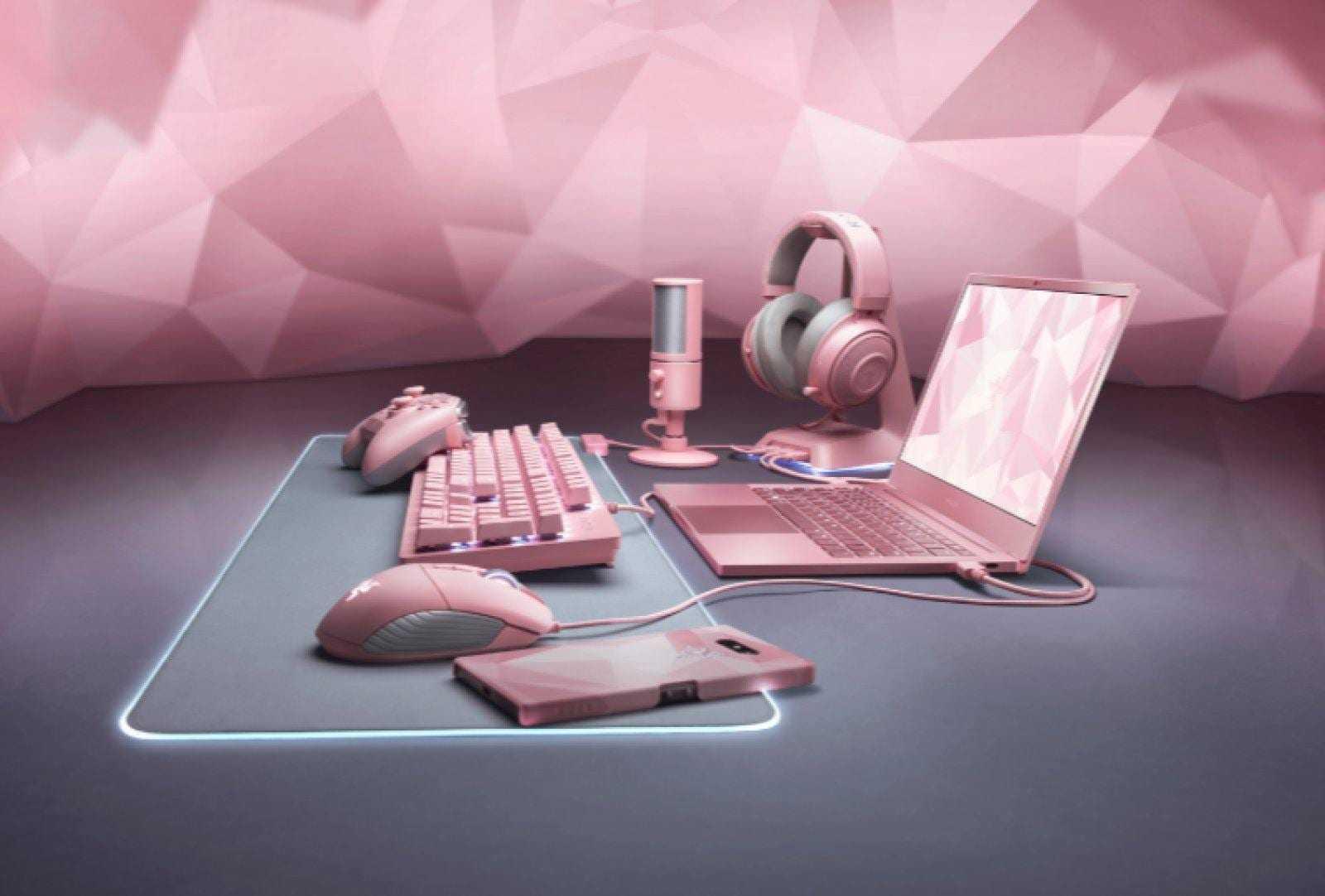 Razer выпустит розовый игровой ноутбук ко Дню Святого Валентина
