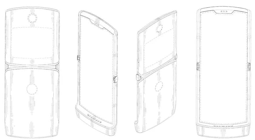 ФОТО: Motorola представила первый смартфон со складным экраном