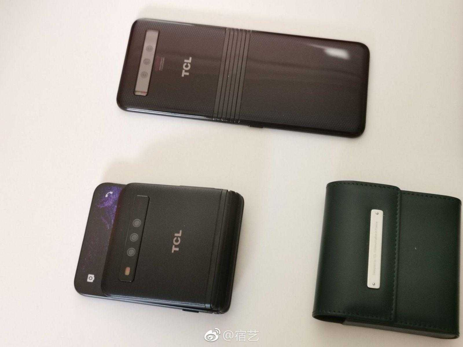 MWC 2019. TCL официально представила бюджетные сгибающиеся смартфоны