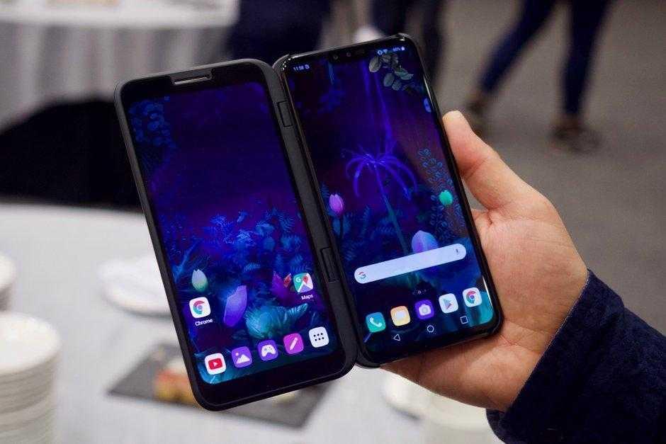 MWC 2019. LG представила свой 5G-смартфон LG V50 ThinQ