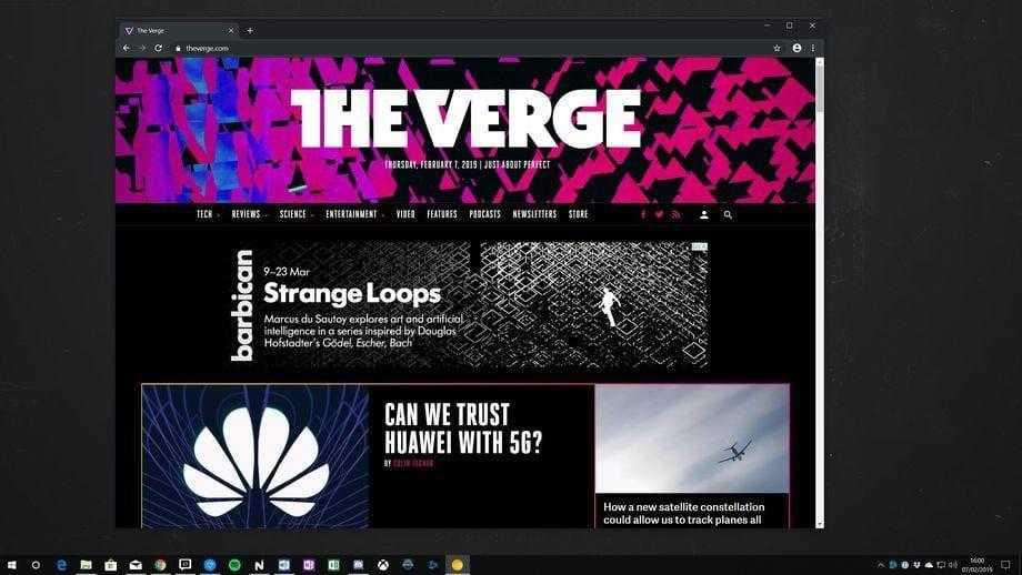 Chrome получит темную тему для Windows 10 и macOS
