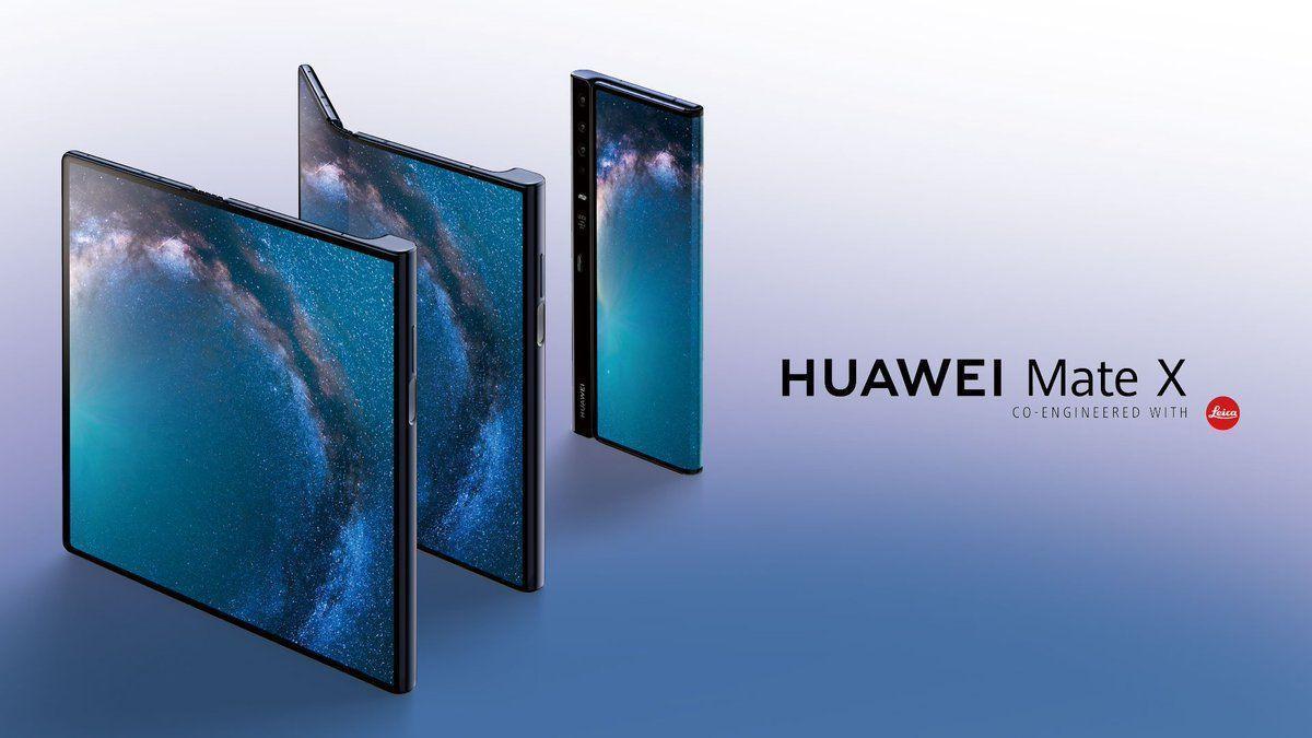 d0llx5kx4aa1e62 MWC 2019. Huawei представила свой первый сгибающийся смартфон Huawei Mate X с поддержкой 5G