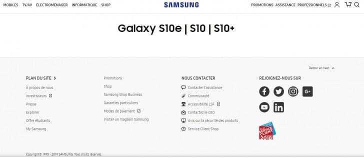 Смартфон Galaxy S10e официально подтверждён Samsung