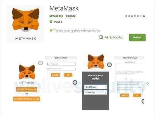 ESET нашла в Google Play приложение для кражи криптовалюты
