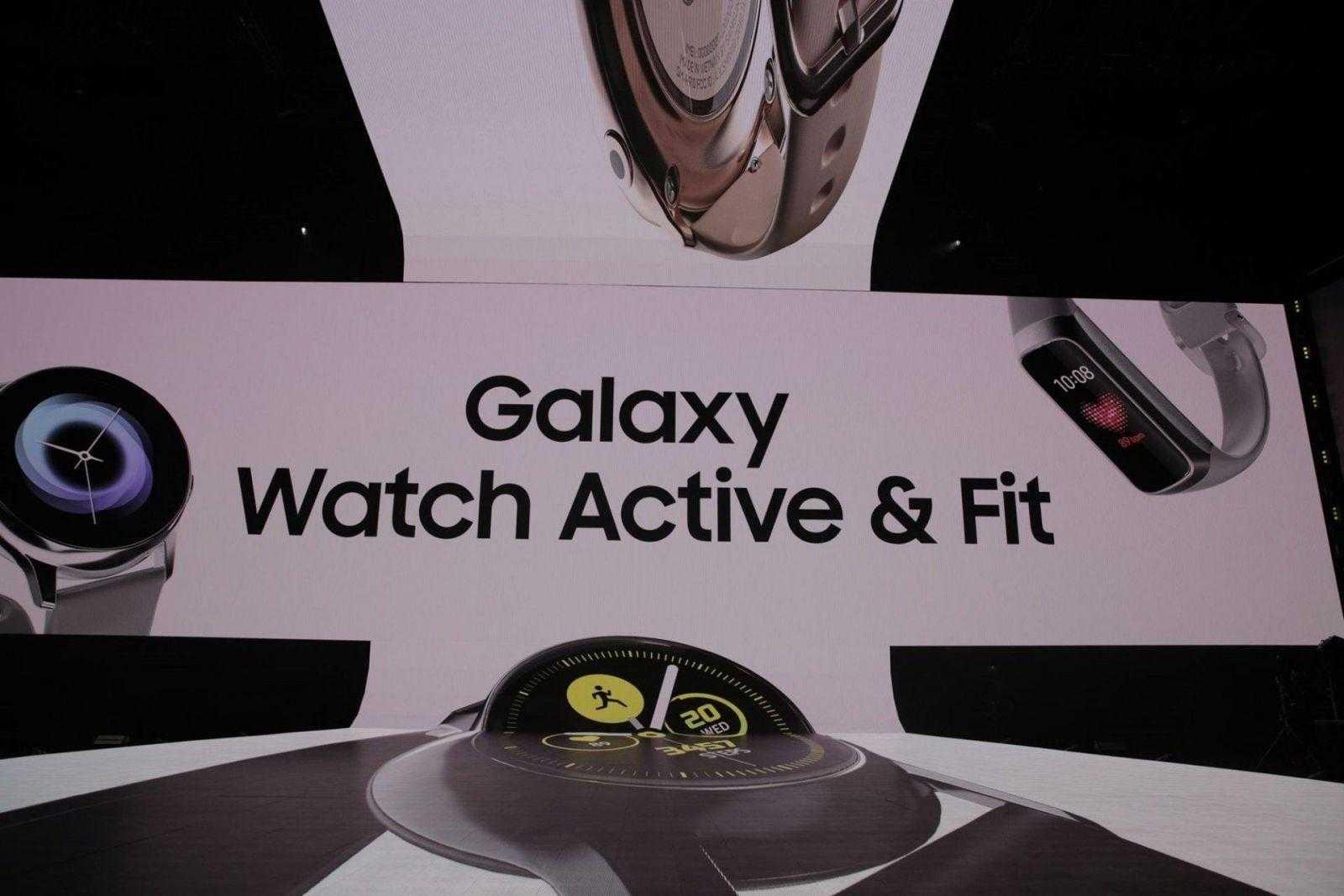 Samsung Galaxy Watch Active выпущены официально
