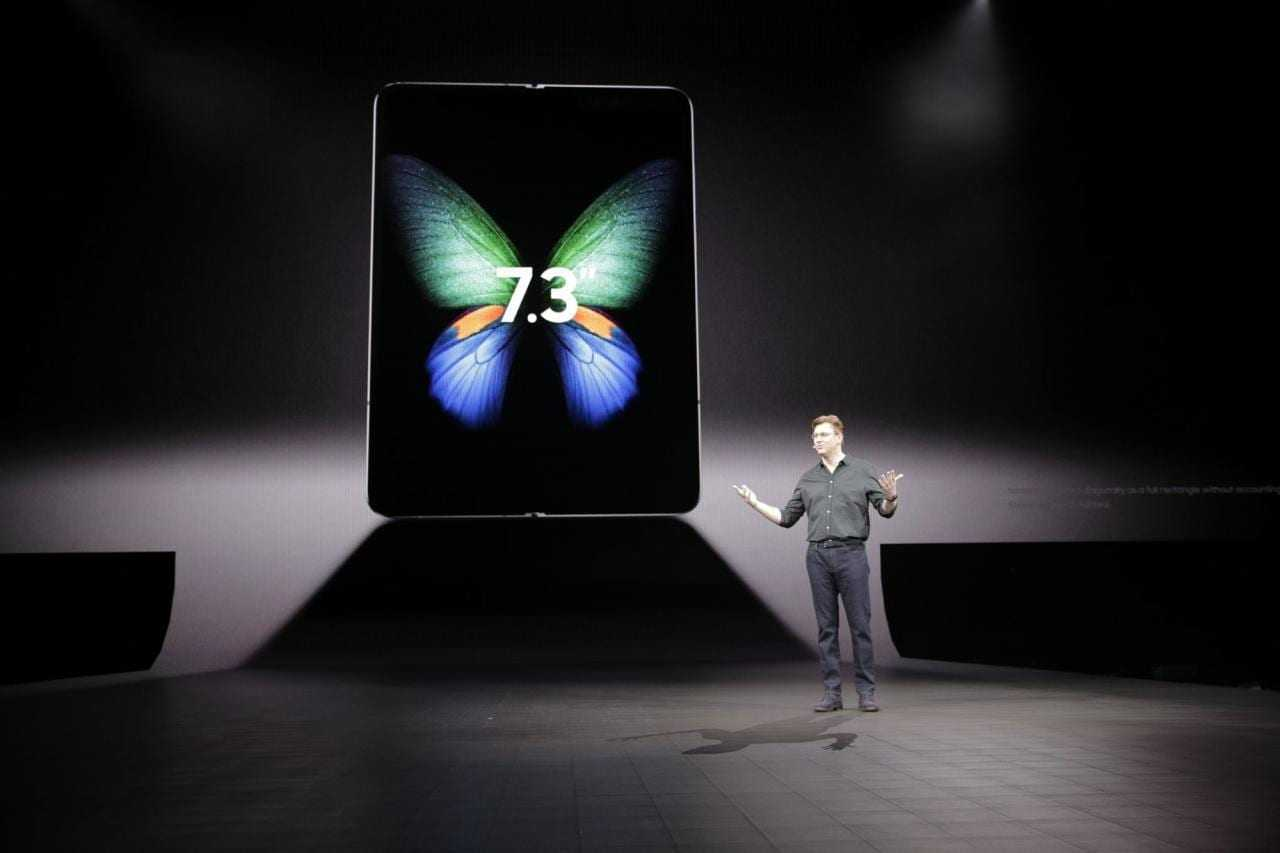 Samsung официально анонсировал складной смартфон Galaxy Fold