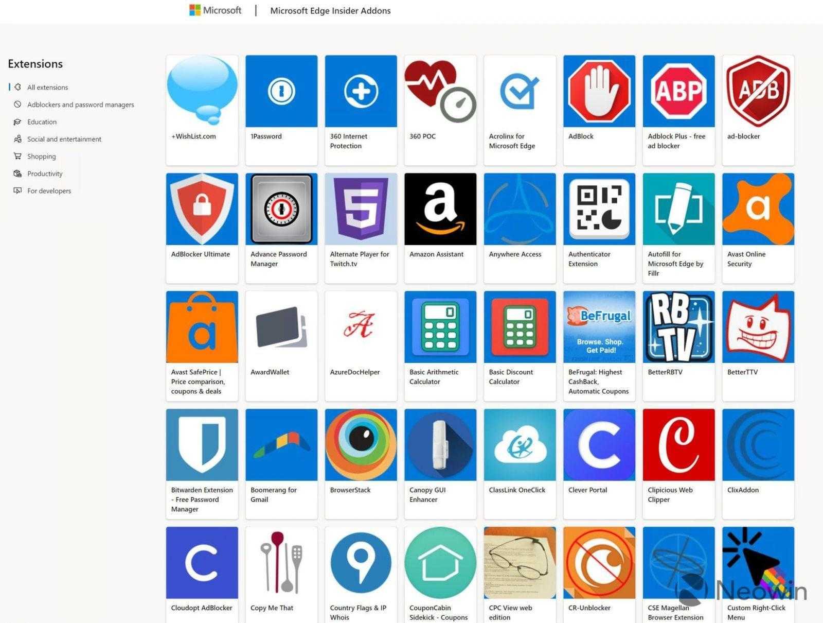 В сети появились первые изображения нового браузера Microsoft