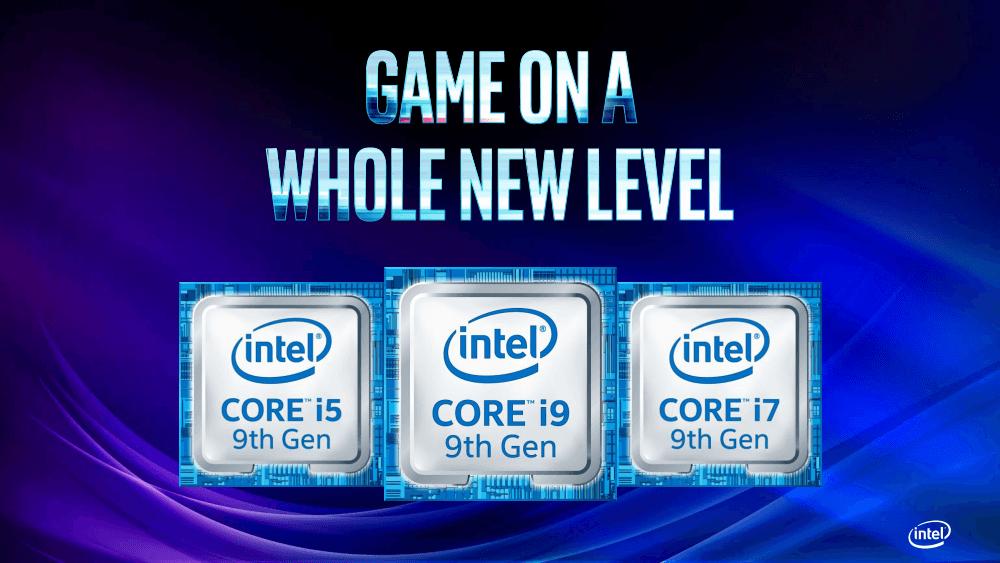 Intel на GDC 2019. Анонс процессоров Core 9-го поколения и обновленная панель управления графикой