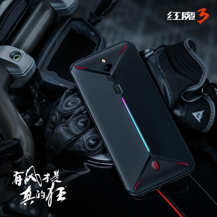 В Китае представлен игровой смартфон Nubia Red Magic 3: Snapdragon 855, 8K видео и аккумулятор емкостью 5000 мАч