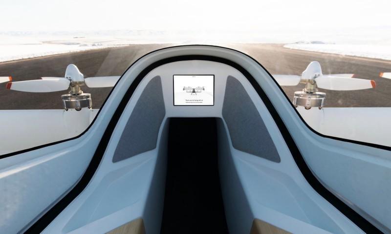 Проект Vahana: Airbus показал первые фотографии из кабины беспилотного самолета-такси Alpha Two