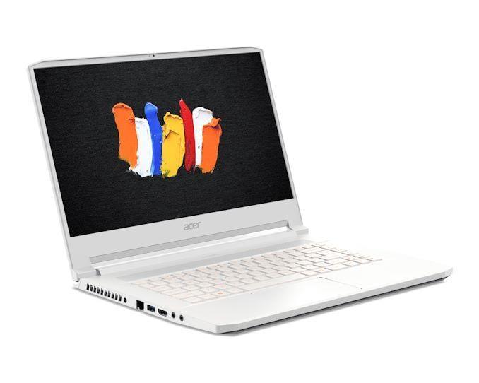 Acer анонсировала ноутбук ConceptD 7 с видеокартой NVIDIA Quadro RTX 5000