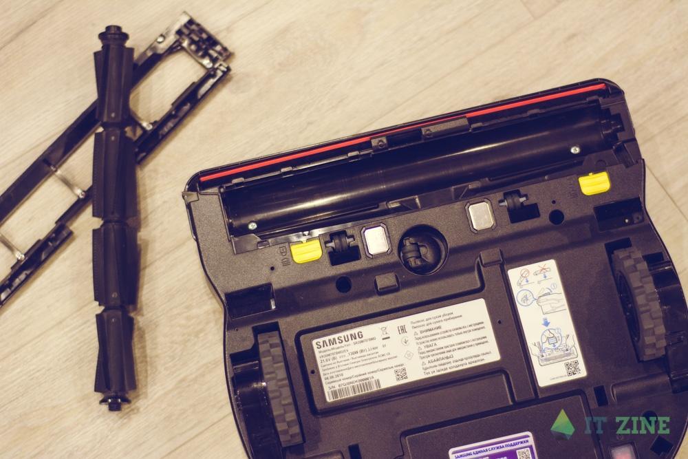 Обзор робота-пылесоса Samsung VR7070. Уборка без забот