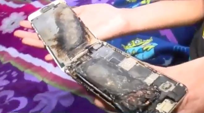 В Apple начали расследование взрыва iPhone 6