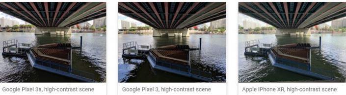 Google Pixel 3a получает 100 баллов по DxOMark