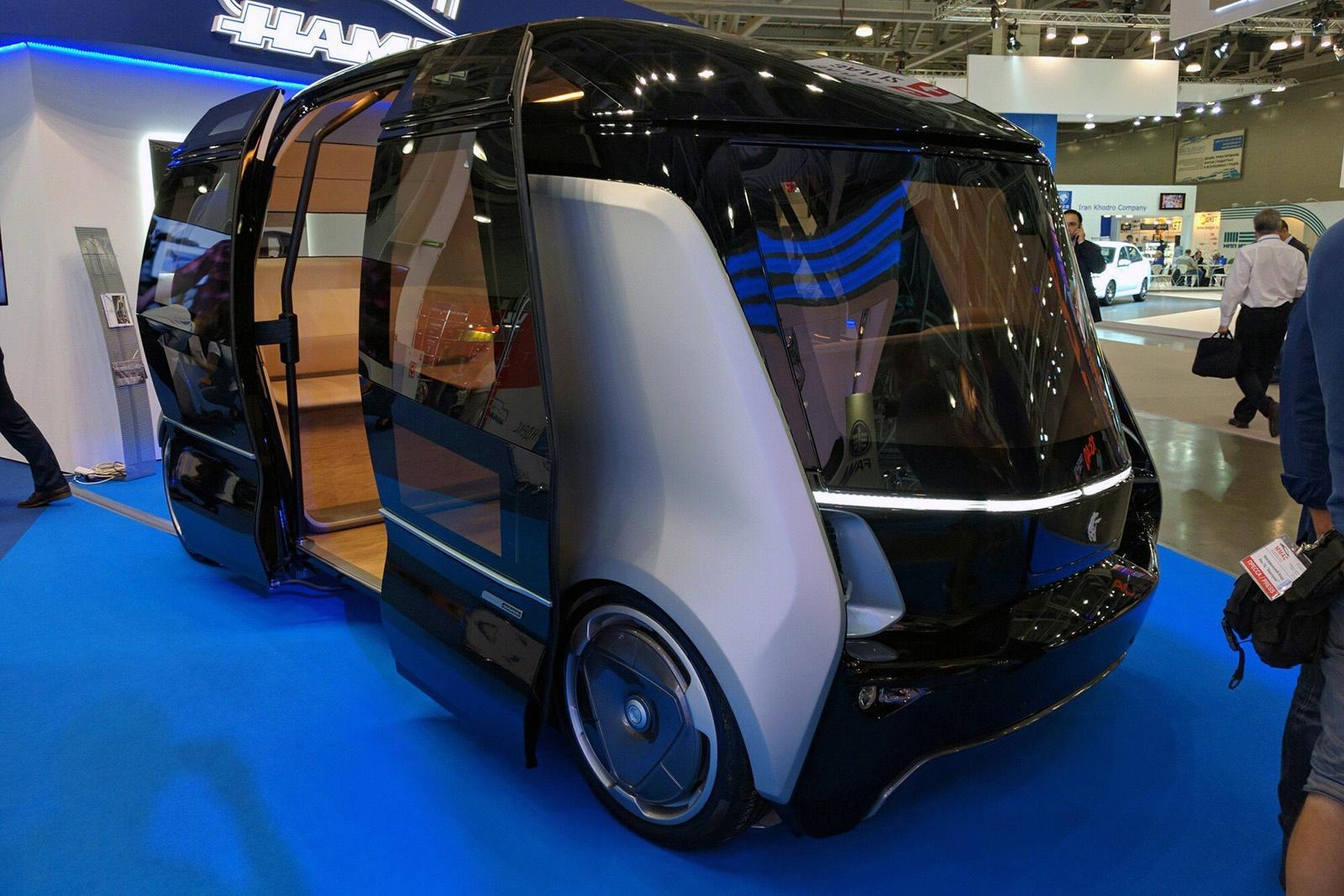 Корпорация Sony разработает беспилотный автобус в партнерстве с Yamaha