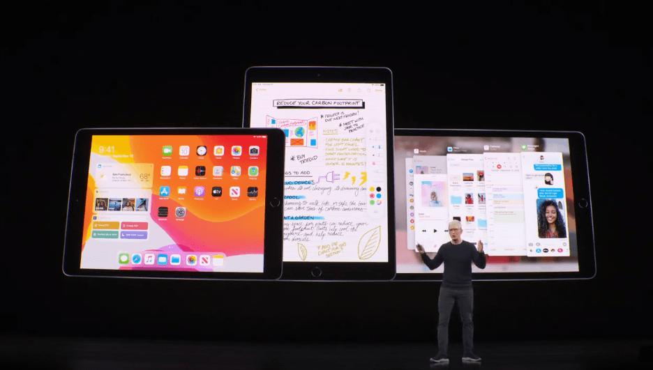 Apple показала обновленный  iPad 2019