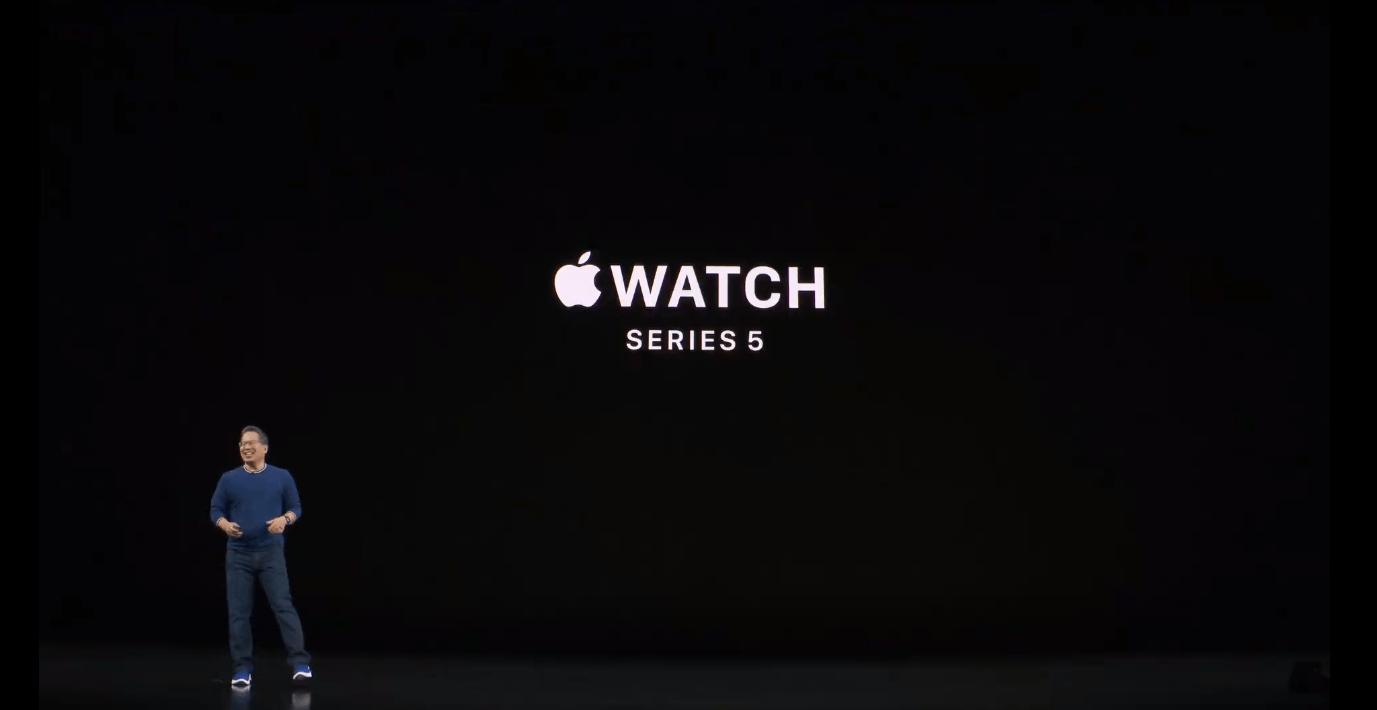 Apple показала новые умные часы Apple Watch series 5