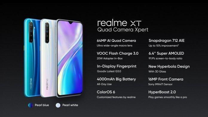Бренд Realme представил смартфон Realme XT