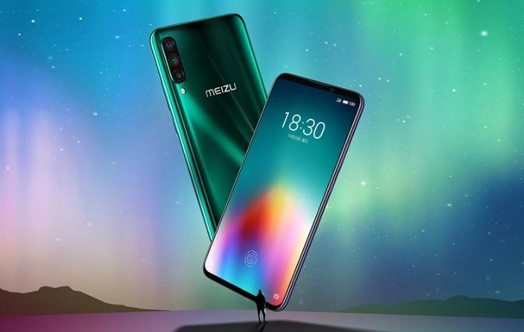 Компания Meizu представила флагманский смартфон Meizu 16T с подэкранным сканером отпечатка пальцев за $282