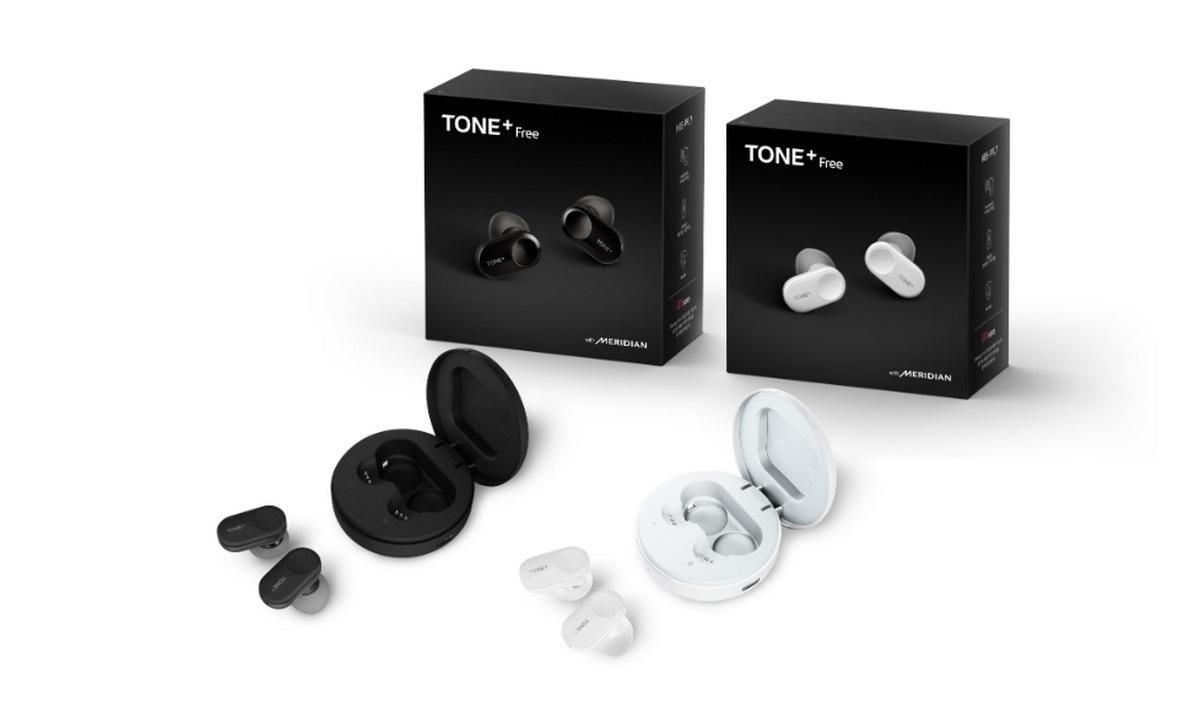 LG выпускает беспроводные наушники LG Tone+Free
