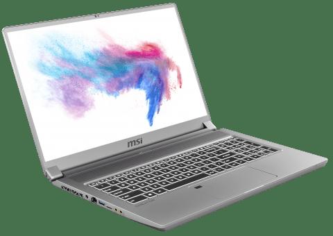 CES 2020. MSI представила ноутбук с mini-LED дисплеем