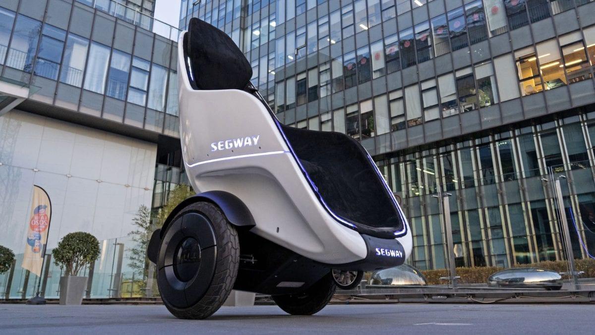 CES 2020. Кресло, на котором можно ездить по улицам