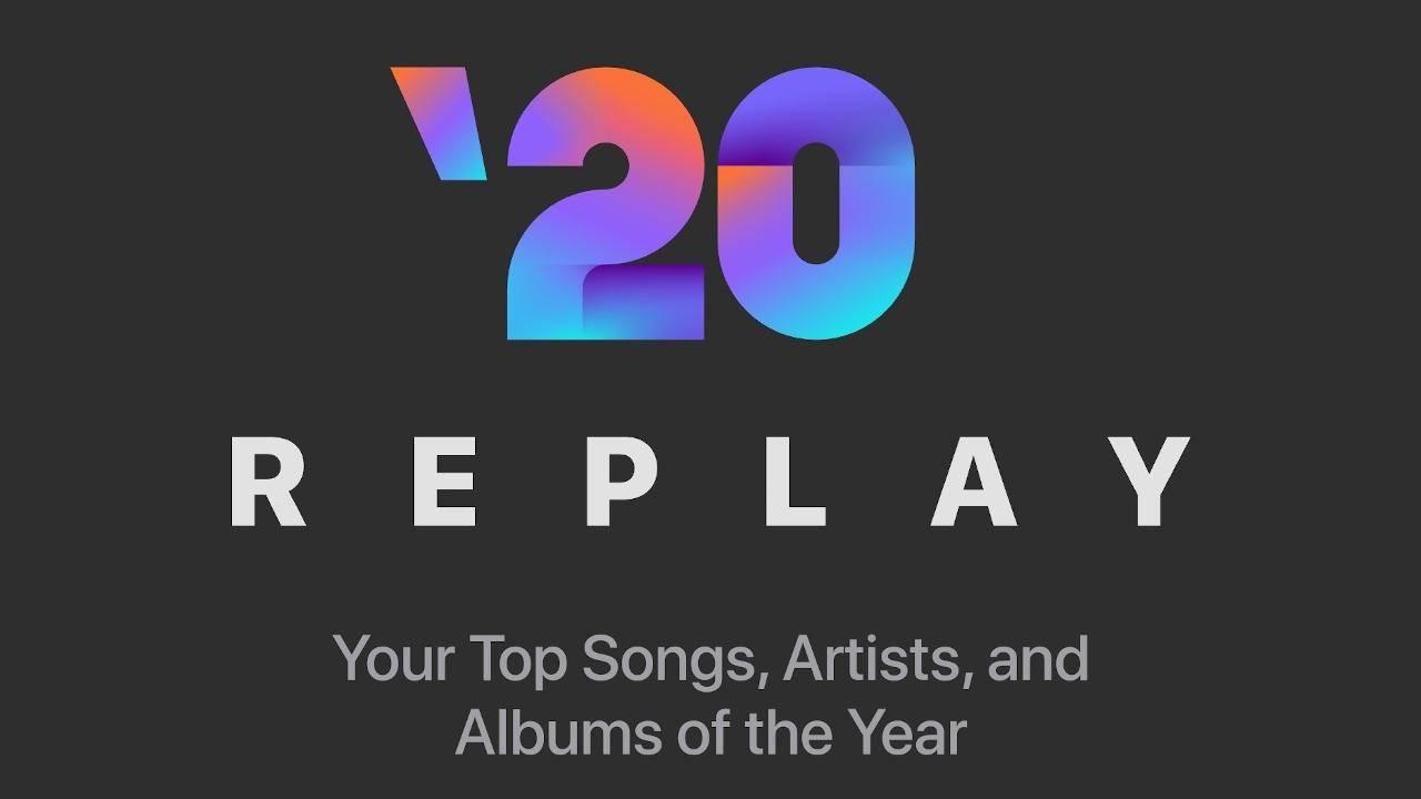 Apple выпустила плейлист Apple Music Replay 2020