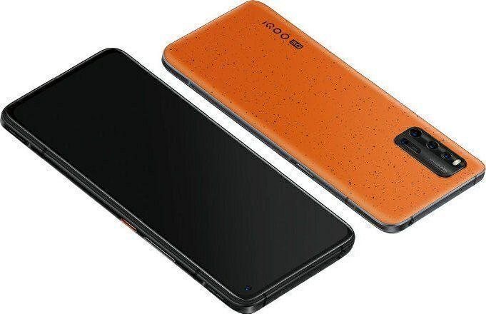 iqoo-3-5g-volcano-orange В Сети появились фотографии и характеристики смартфона iQOO 3 5G