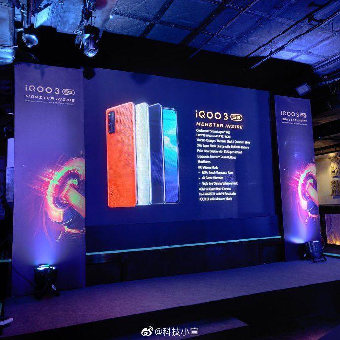 iqoo-3-pro-5g-a В Сети появились фотографии и характеристики смартфона iQOO 3 5G