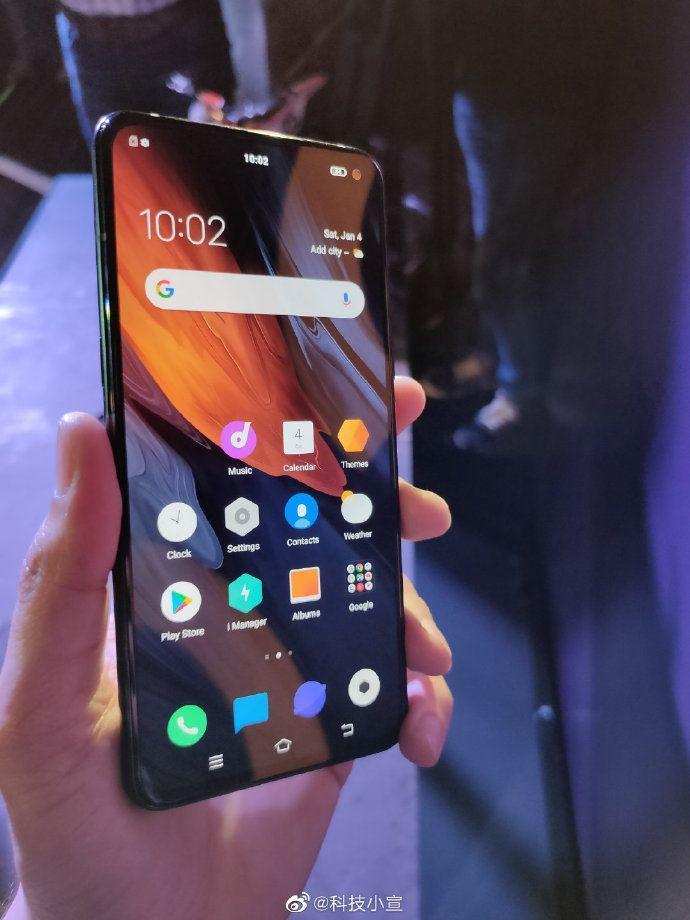 iqoo-3-pro-5g-b В Сети появились фотографии и характеристики смартфона iQOO 3 5G