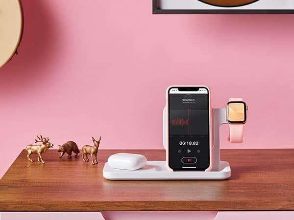 Logitech представили беспроводную зарядку для iPhone, AirPods и Apple Watch