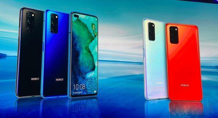 В России стартовали продажи смартфона Honor V30 Pro