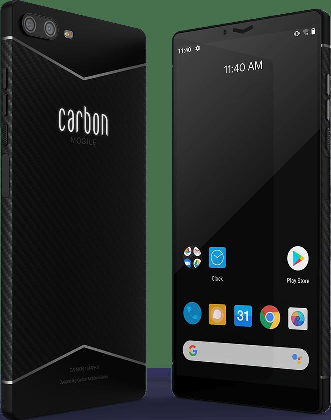 carbon-1-mark-ii Представлен Carbon 1 Mark II - первый в мире смартфон из углеродного волокна