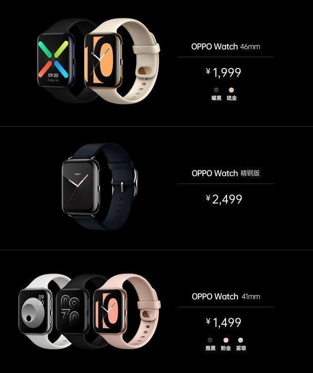 oppo-watch OPPO представила свои первые умные часы