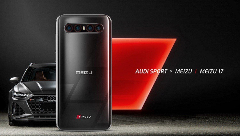 В сеть просочилось фото Meizu 17 Audi Special Edition
