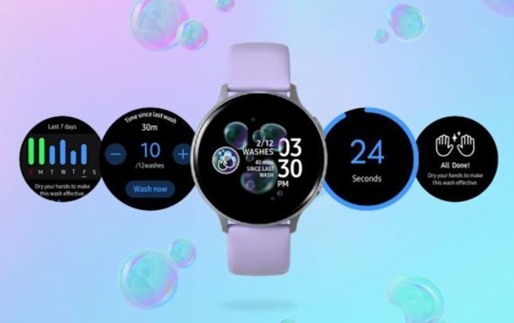 Новое приложение для Galaxy Watch напомнит о необходимости помыть руки
