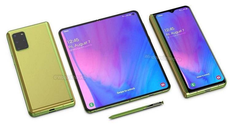 Раскрыты подробности о дисплее складного смартфона Samsung Galaxy Fold 2
