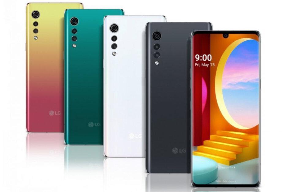 LG полностью рассекретила свой грядущий смартфон LG Velvet