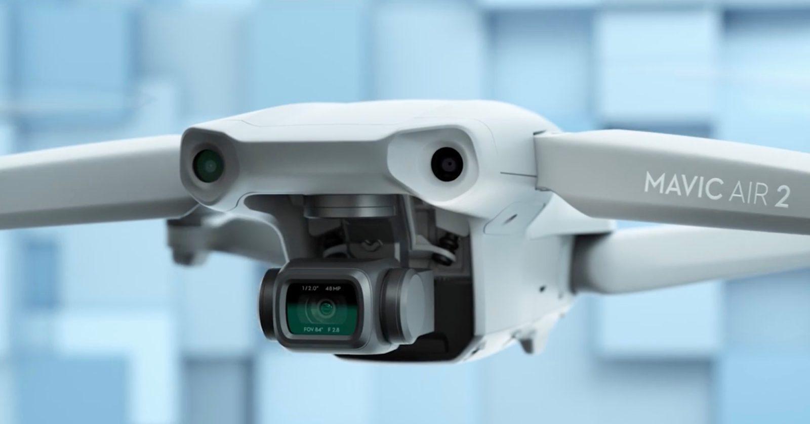 DJI выпускает складной дрон Mavic Air 2