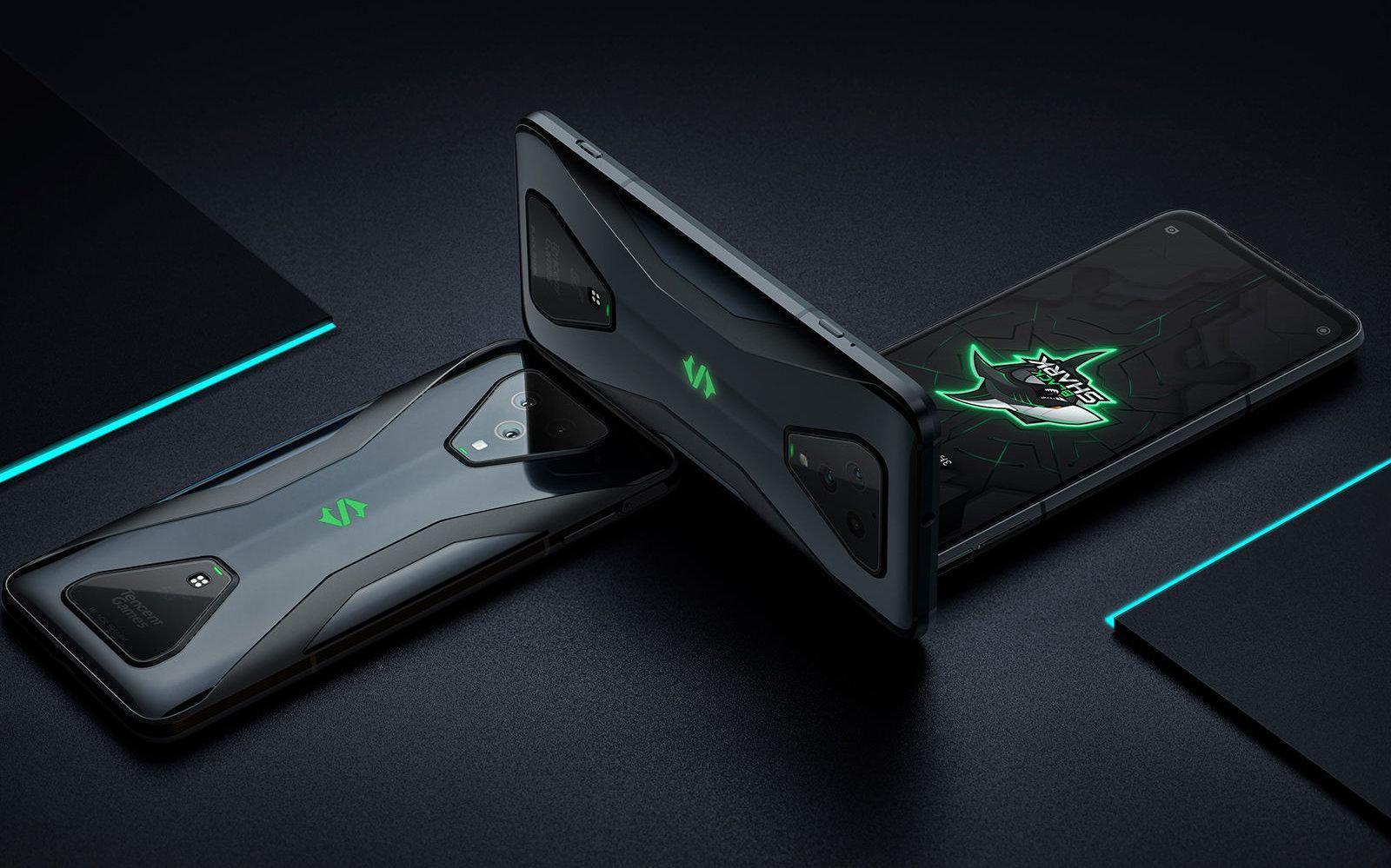 Европейские продажи игровых смартфонов Black Shark 3 и Black Shark 3 Pro стартуют 8 мая