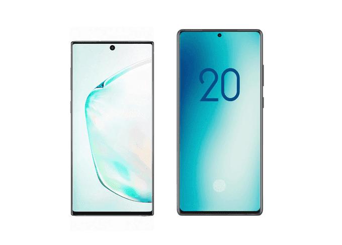 В сеть опубликовали фотографии смартфона Samsung Galaxy Note 20