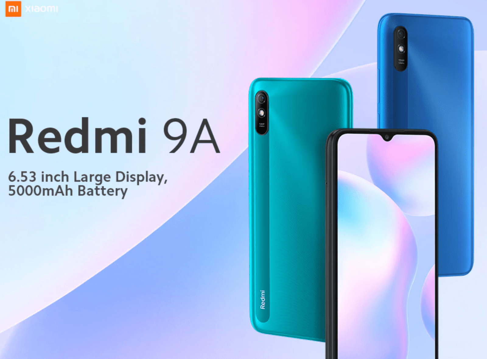 Смартфон Redmi 9A теперь доступен для глобального рынка