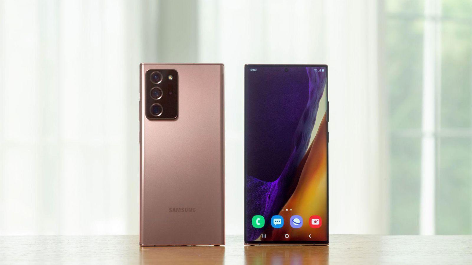 Samsung представил Galaxy Note20 и Note20 Ultra официально