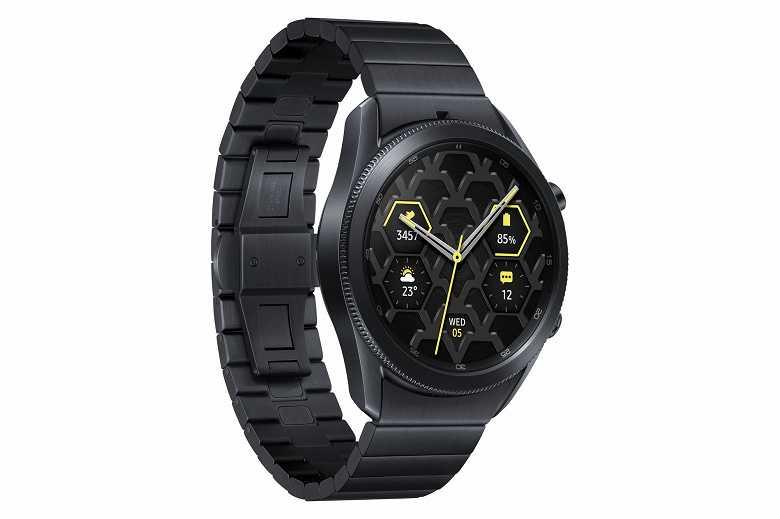 Samsung выпустила титановые Galaxy Watch 3