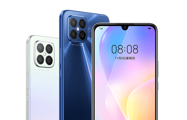 Huawei представила смартфон Huawei Nova 8 SE