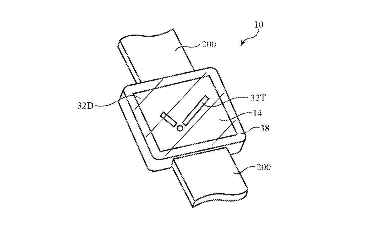 В будущих Apple Watch может появиться Touch ID  и подэкранная камера