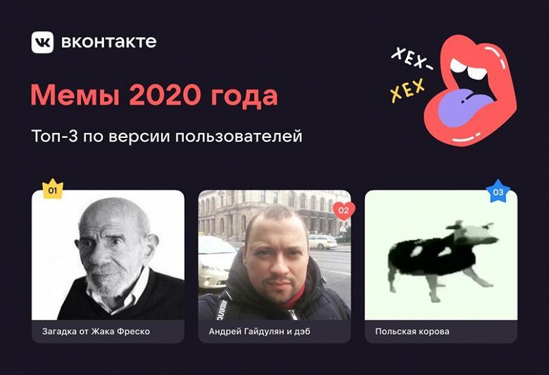"""Во """"ВКонтакте"""" выбрали главный мем уходящего года"""