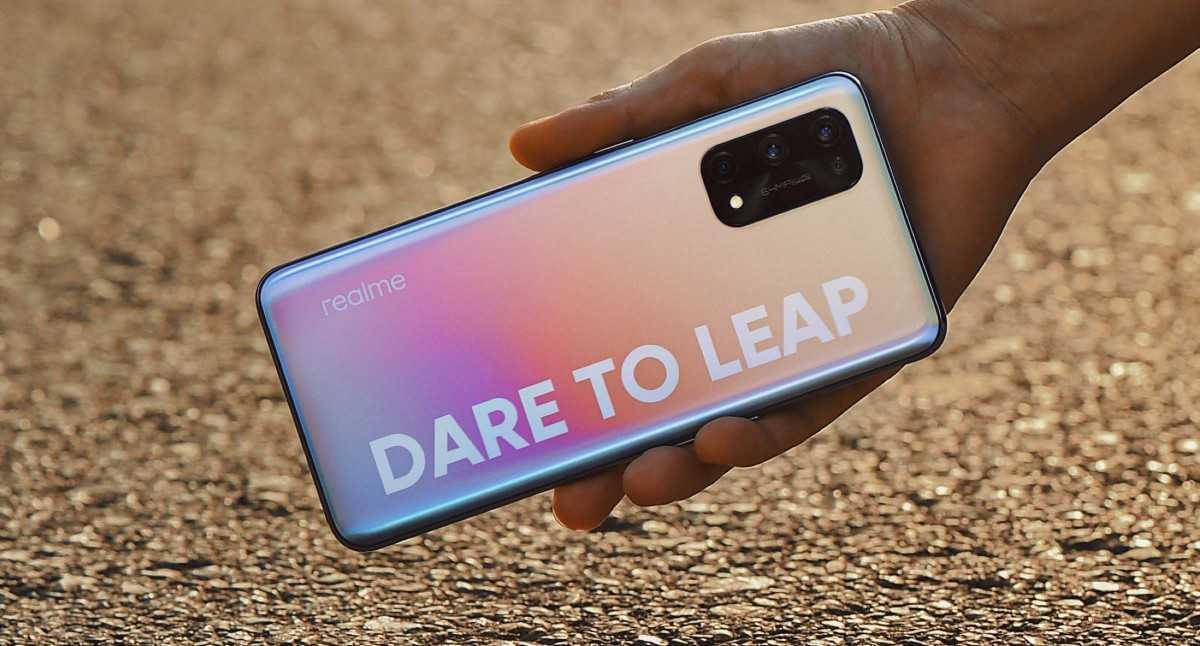 Realme представила смартфон Realme X7 Pro